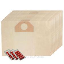 15 x Sacchetti Per Aspirapolvere Per DeLonghi HOOVER DOPPIO STRATO BAG + Fresca