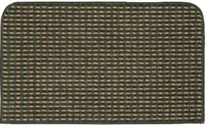 """Berber Colorations Stain Resistant Kitchen Rug in Cinder 18"""" X 30"""" New"""