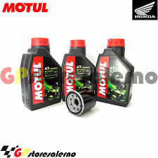 TAGLIANDO OLIO + FILTRO MOTUL 5100 10W40 HONDA 650 NT HAWK GT 1991
