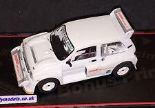 IXO 1/43 MG Metro 6R4 Autosport Metro Challenge Car D222ERW Code 3 Group B