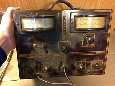 Antique Hickok AS10 AF RF Audio Oscillator Test Equipment for parts/repair