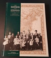 1991 The Handybook for Genealogists : United States of America 8th ed HC VG COND
