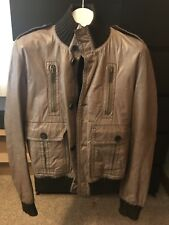 Gucci Men's Leather Bomber 52