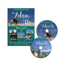 Notgrass From Adam to Us Audio Supplement (MP3 CDs) NEW!