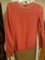 Ladies Pied A Terre  Pink  Long Sleeve Casual Jumper Size 8