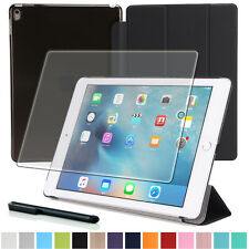 "9H Panzerglas Folie+ Tasche f. Apple iPad Pro 9.7"" Tablet Etui Cover-3"
