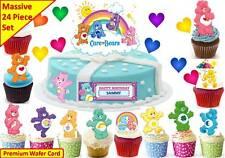 Care Bears Cup Cake 3d escena Topper Oblea Comestibles Fiesta De Cumpleaños De Pie Personalizado