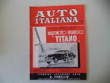 - AUTO ITALIANA 2/1949