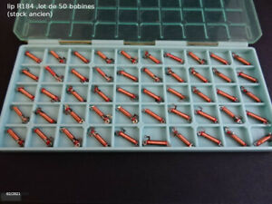 lip R184  ,  lot de 50 bobines  , nad(stock ancien)
