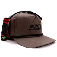 RNT RICH-N-TONE VINTAGE STYLE FUDD HAT DUCK HUNTING CAP OLIVE AND PLAID
