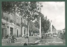 Calabria. CASSANO IONIO, Cosenza. Via Amendola. Cartolina viaggiata nel 1966