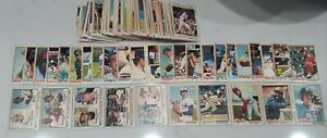 1978  O-PEE-CHEE OPC lot of 191 different Baseball Cards. Great starter Set NM