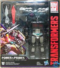 Hasbro Transformers Power of The Primes Leader Class Nemesis Prime Black Optimus