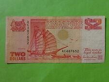 Singapore $2 Ship, AC 487652