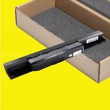 New Battery For Asus K43BY K43E K43J K43SJ K43U X43JF X43E X44H X44L X53S X53SV
