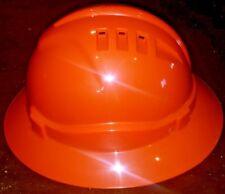 Full Wide Brim Vented Hard Hat | Pro Choice HHV6FB | Orange | Aus Std Certified