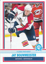 09/10 O-PEE-CHEE OPC RETRO #411 JAY BOUWMEESTER PANTHERS *3559