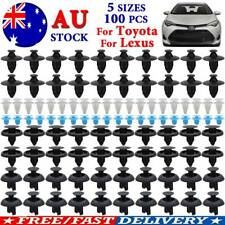 100Pc For Toyota/Lexus Bumper Clips Fender Push Pin Rivets Retainer 90467-07211