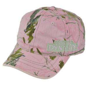 Duck Dynasty A&E Tv Series Realtree Ladies Women Pink Tree Garment Wash Hat Cap