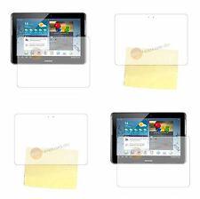 Samsung Galaxy Tab 2 10.1 p5100 claro lámina protectora de pantalla protector + paño para sacar brillo