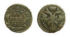 pcc1377_32) ESTERE - RUSSIA -  Anna, 1730-1740 - 1 Denga 1740