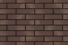 Strangpress Klinker-Riemchen NF-Format braun-bunt Riemchen Verblender