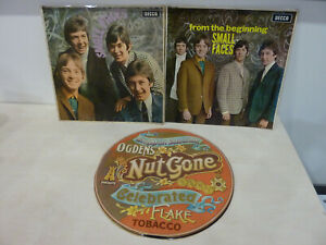 SMALL FACES - Ogden's/From The Beginning/Small Faces - 3 x UK 1st Press LP SALE