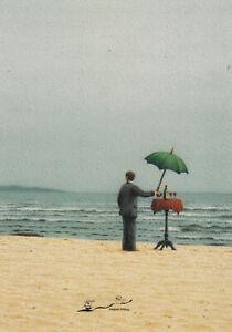 Postkarte: Quint Buchholz - Septembernachmittag am Meer