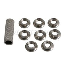 8PCS Aluminum Alloy Switch Nut Replacement for FUTABA Remote Control Upgrade