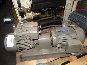 Hawker Siddeley Motor with OHTA-Pump 230/460V 3Ph 1700Rpm 60Hz 6.7/3.35A