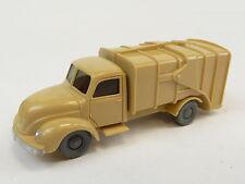Wiking 643 / 1 Magirus S 3500 alter Müllwagen 60er Jahre 1:87 (O)