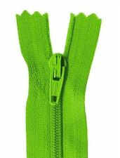 25cm Mid Green Dress Zip