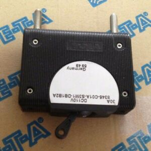 ETA 30A DC110V Thermal Magnetic Circuit Breaker, 8345-C01A-S3M1-DB2A