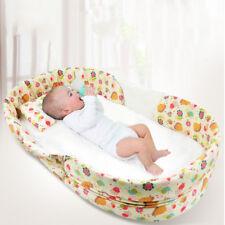 Newborn Baby Travel Crib Bed Set Portable Infant Sleeper Bassinet Playpen Cot