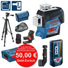 BOSCH Linienlaser GLL 3-80 C Laser-Empfänger LR7 L-BOXX  Stativ BT150 50€ zurück
