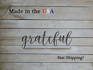 Grateful- Inspirational Wall Art-Christian Decor-W1143