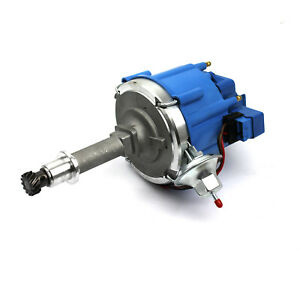 Holden 6 Cyl 186 202 65K Coil HEI Electronic Distributor - Blue Cap