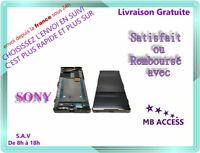 Ecran Lcd Complet avec Chassis Frame Pour Sony C5 E5533 /E5563 Noir