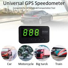 Digital Car GPS Speedometer Speed Display KM/h MPH For Bike Motorcycle NEW