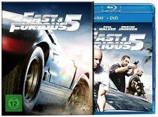 Fast & Furious 5 im Pappschuber Blu-ray und DVD (Vin Diesel) # BLU-RAY+DVD-NEU