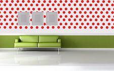 Polka Dot Waterproof Vinyl Decal Sticker WaterproofFor Home Wall Bathroom window