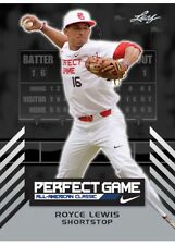 ROYCE LEWIS 2016 LEAF PERFECT GAME ROOKIE CARD! MINNESOTA TWINS OVERALL #1 PICK