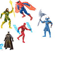 Set of 5 DC Comics Justice League Batman Superman Aquaman Steppenwolf & Flash