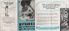Dayton Water Systems And Softeners Brochure, 1950's