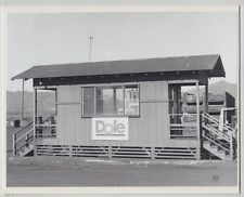 "DOLE DISPATCH OFFICE HELEMANO 1981 HAND PRINTED SILVER HALIDE FOTO ON 8X10"" MAT"