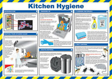 Click Medical Kitchen Food Hygiene Health and Safety A2 Size Poster Laminated
