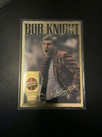 1994 ACTION PACKED BOB KNIGHT BASKETBALL HALL OF FAME #12 INDIANA