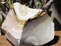 Raw and Rough Mookaite Chunk - Western Australia, Natural