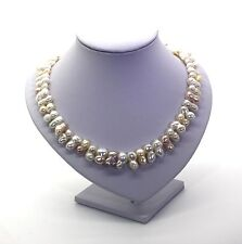 Freshwater pearl necklace With Sterling Silver Clasp 25% Off!