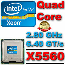 Intel Xeon X5560 CPU 2.80GHz 8MB 6.40GT/s LGA1366 4 Quad Core Processor SLBF4 $$